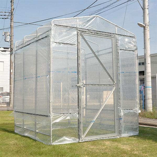 野外ミニ温室:ヒロガーデン1坪タイプ