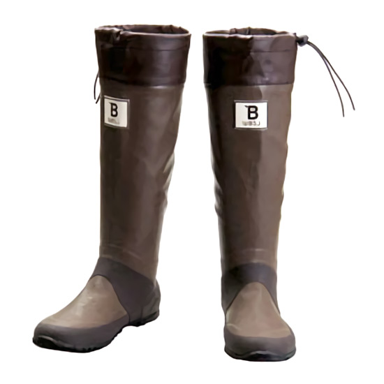 バードウォッチング長靴ブラウンS(収納袋付)