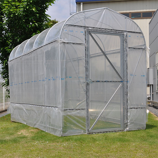 野外ミニ温室:ヒロガーデン2坪タイプ