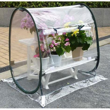 ビニール温室ガーデンハウス SSS(幅71×奥行き51×高さ71cm)