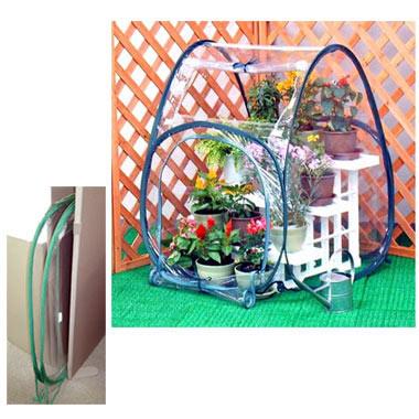 ビニール温室ガーデンハウス S(幅65×奥行き65×高さ85cm)