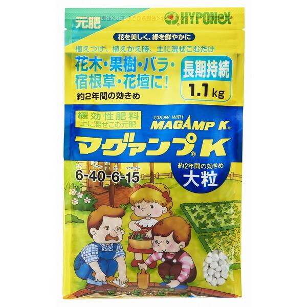 元肥:マグァンプK 大粒1.3kg入り(6-40-6-15)