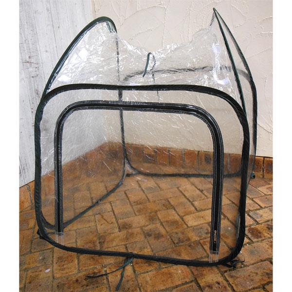 ビニール温室ガーデンハウス M(幅80×奥行き80×高さ95cm)