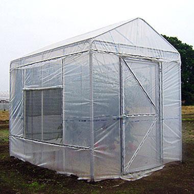 野外ミニ温室:ヒロガーデン1.4坪タイプ