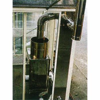 石油暖房機用給気スライドパネル2段窓用(70〜90cm)