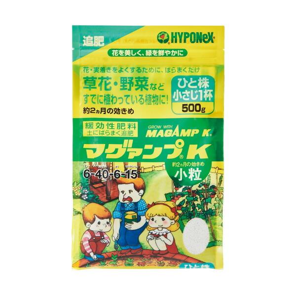 元肥:マグァンプK小粒600g入り(6-40-6-15)