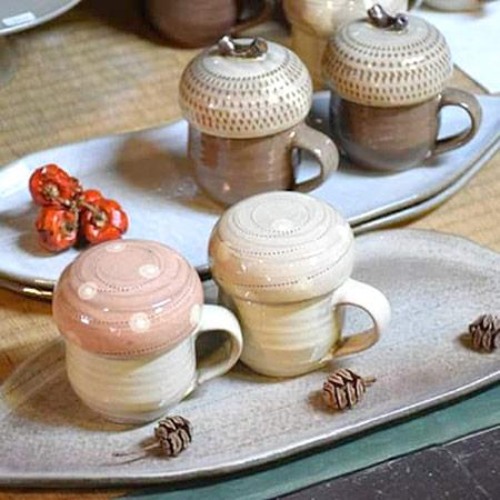 小石原焼料理写真