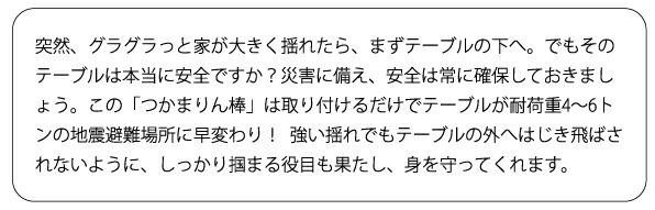 つかまりん棒 【送料無料】 【大好評P10倍】 【防災用品】 【RCP】