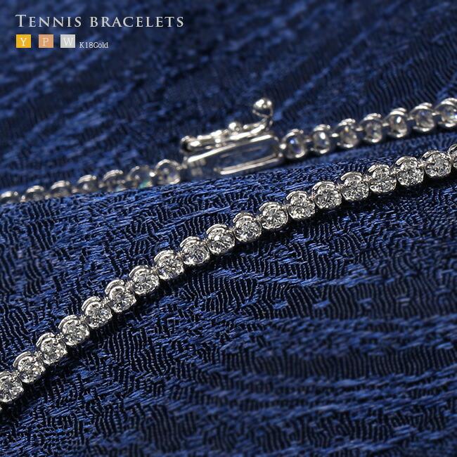ダイヤモンド テニスブレスレット ブレス ブレスレット -銀座のジュエリーショップ ENJUE-