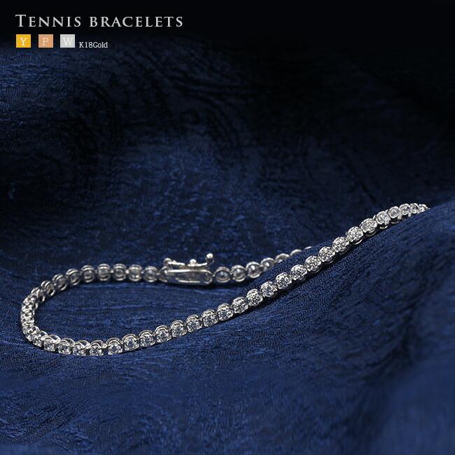 ダイヤモンド テニスブレスレット -銀座のジュエリーショップ ENJUE-
