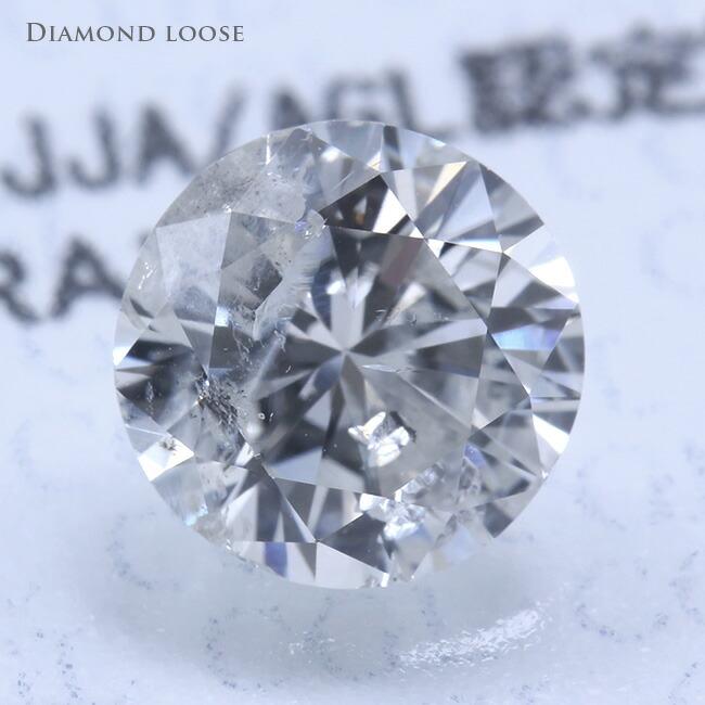 ダイヤモンドルース Jカラー 1.018カラット 1.018ct FAIR I-1 ダイヤモンド ダイヤ 鑑定書 中央宝石研究所 -銀座のジュエリーショップ ENJUE-