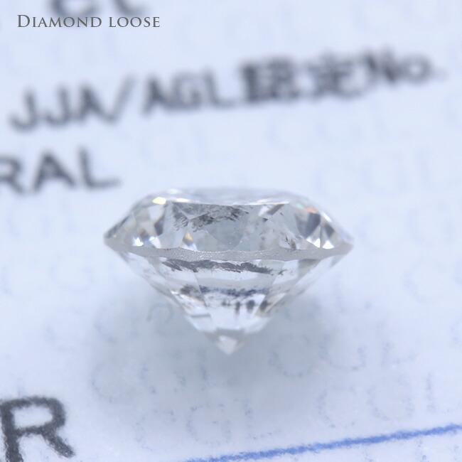 ダイヤモンドルース Iカラー 1.291カラット 1.291ct FAIR I-1 ダイヤモンド ダイヤ 鑑定書 中央宝石研究所 -銀座のジュエリーショップ ENJUE-