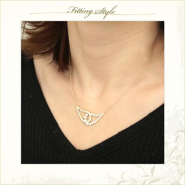 ダイヤモンド ネックレス -銀座のジュエリーショップ ENJUE-