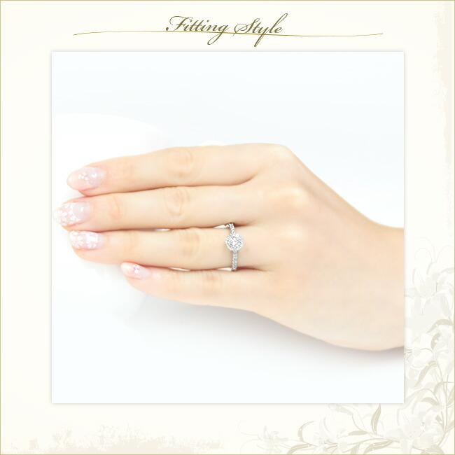 エンゲージリング・取巻きリング・ダイヤモンドリング・ダイヤモンド・ダイヤモンド取巻きリング -銀座のジュエリーショップ ENJUE-