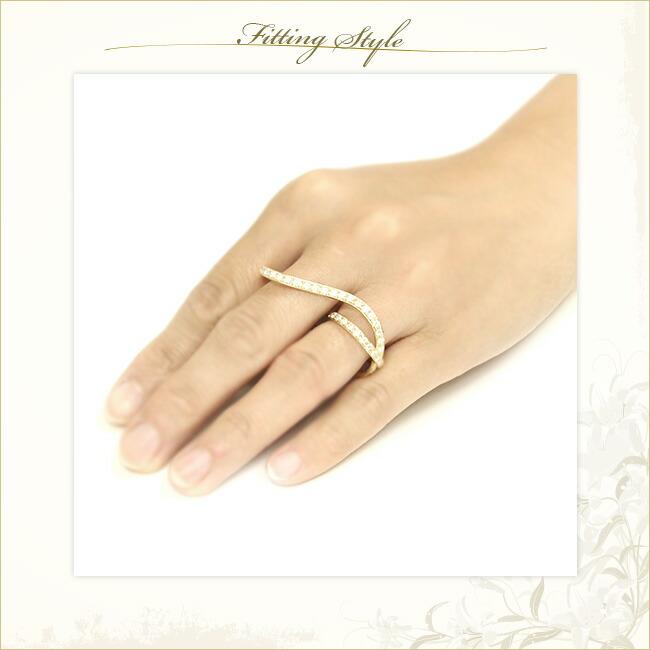ダイヤモンド Wリング エタニティリング エタニティ リング -銀座のジュエリーショップ ENJUE-