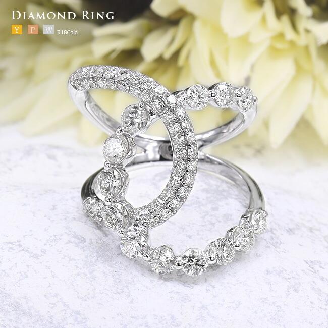 ダイヤモンド パヴェ エタニティ ダイヤ リング -銀座のジュエリーショップ ENJUE-