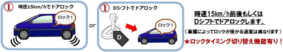 NISSAN ノート NOTE専用 車速ドアロック+Pシフトでドアロック解除+連動ミラー格納を搭載!3つの機能_4