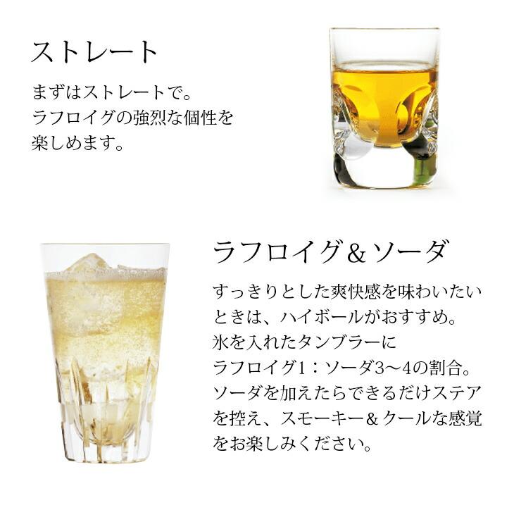 ラフロイグの飲み方