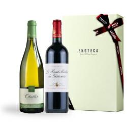 【送料・紙箱込み・説明付き】フランス産紅白ワイン5,000円ギフト