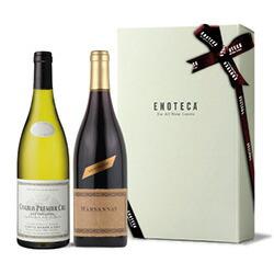 【送料・紙箱込み・説明付き】フランス産紅白ワイン10,000円ギフト