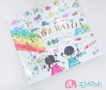 コクヨ 透明クレヨン16色