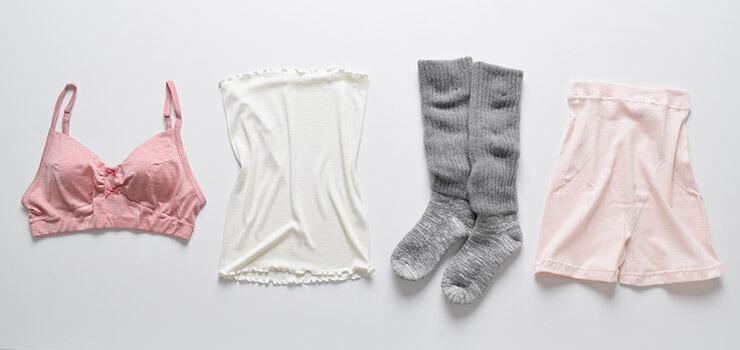 天然シルクの妊活インナー