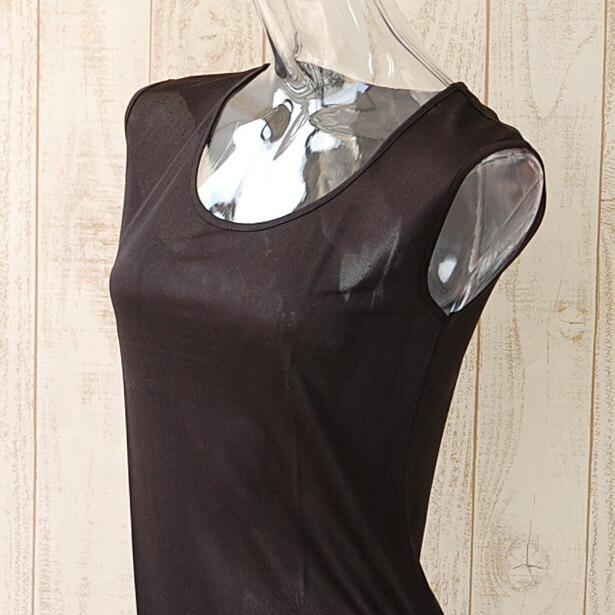 シルク フレンチ袖