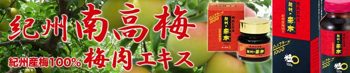 梅肉エキス(紀州の赤本)