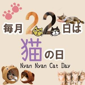 22日は猫の日
