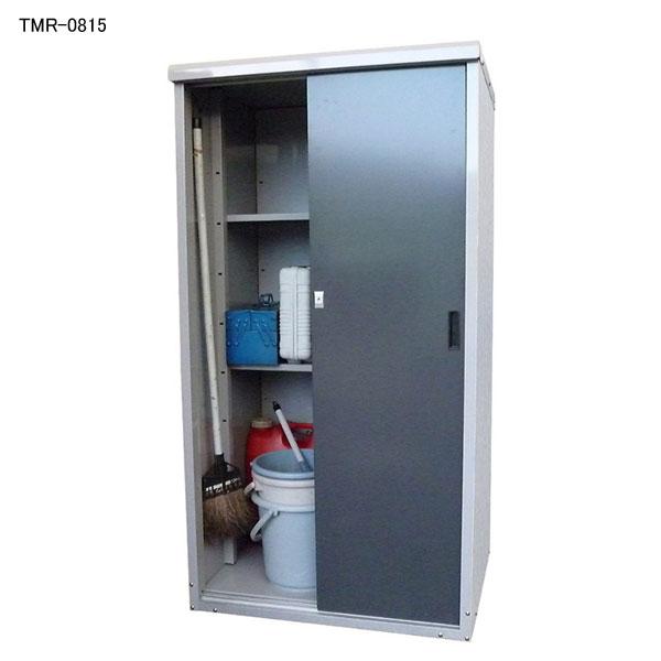 タカヤマ スチール製小型物置   幅800×奥行650×高さ1500 TMR-0815