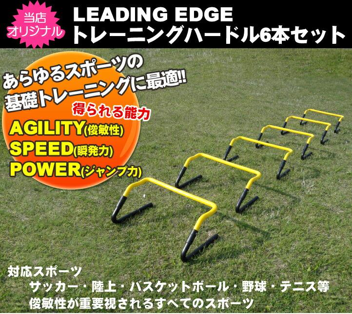 トレーニングハードル6本セット