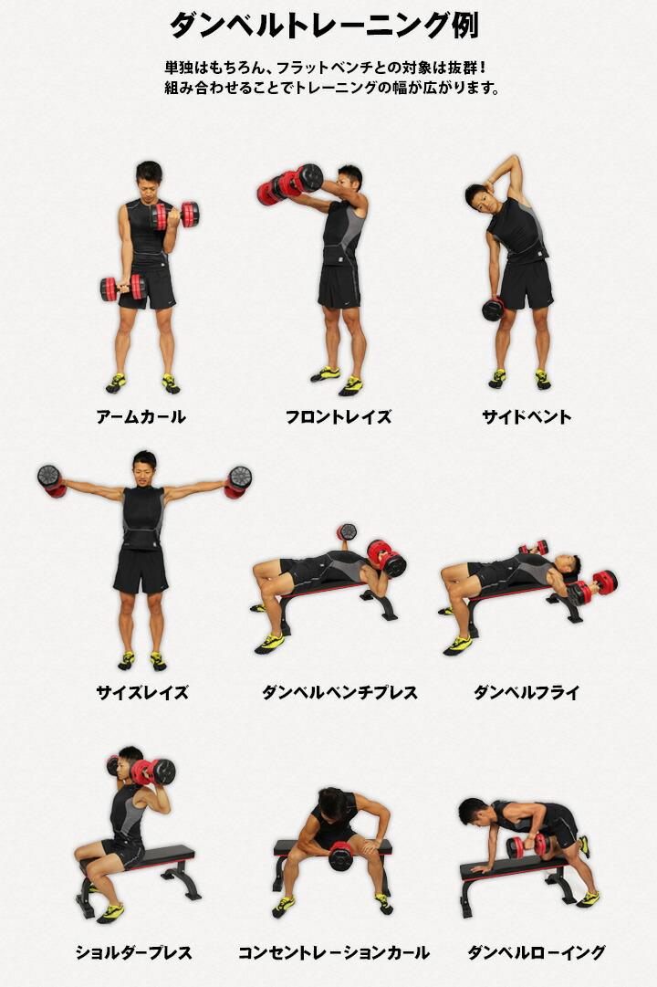 ダンベルトレーニング例