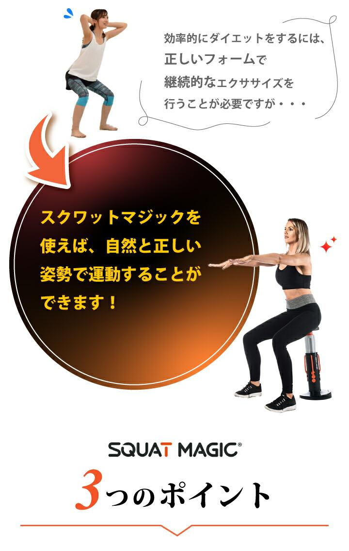 正しい姿勢で運動できる