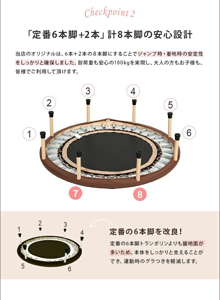 8本脚の安心設計
