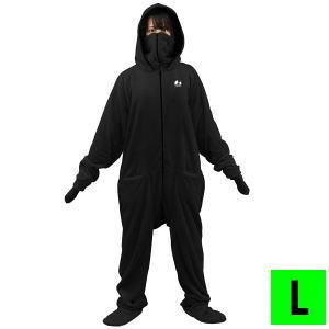 部屋着 着る毛布 ルームウェア ダメ着2020 HFD-BS-L-BK Lサイズ ブラック 送料無料【SP】