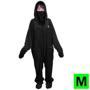 部屋着 着る毛布 ルームウェア ダメ着2020 HFD-BS-M-BK Mサイズ ブラック 送料無料【SP】
