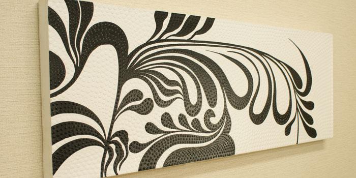 バリ島のドットアート