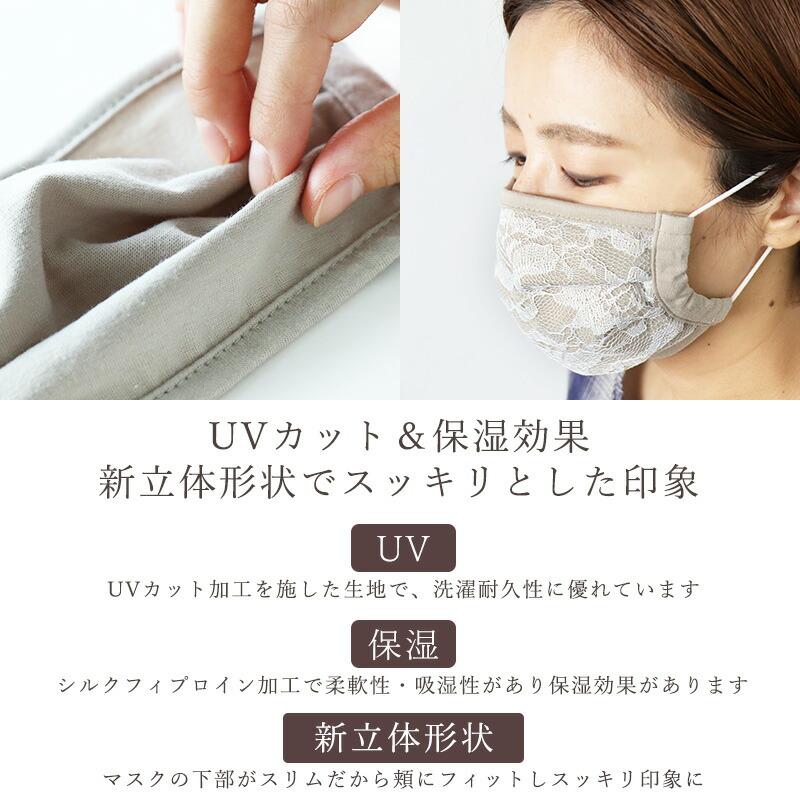 UVカット保湿マスク