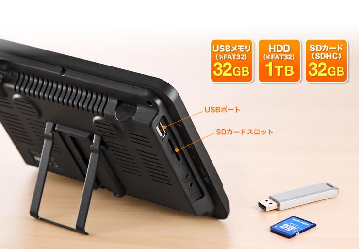 USBメモリ1TB SDカード(SDHC)32GB