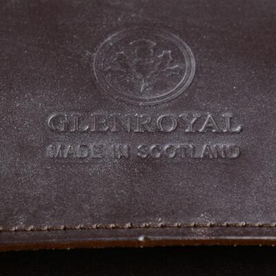 グレンロイヤル サッチェルバッグのロゴマーク