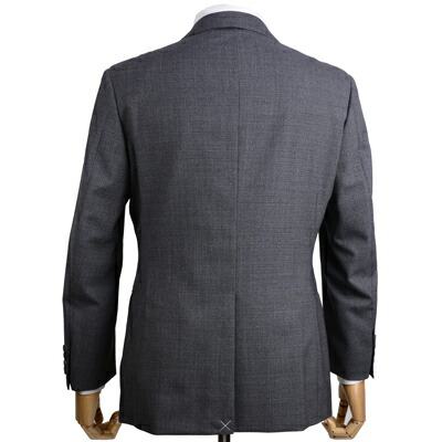 J.プレス メンズ 秋冬スーツ のバックスタイル