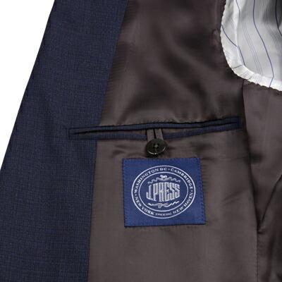 J.プレス メンズ 秋冬スーツ の織りネーム