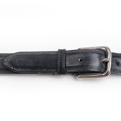 (ブラック) 牛革 ホワイトハウスコックス 28mm 型番:B8665 ベルト ブライドルレザー 【Whitehouse Cox】