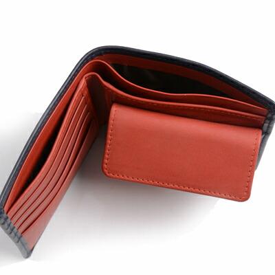 ホワイトハウスコックス S7532 二つ折り財布ダービーコレクションのサイド