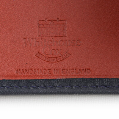 ホワイトハウスコックス S7532 二つ折り財布ダービーコレクションのハンドメイド
