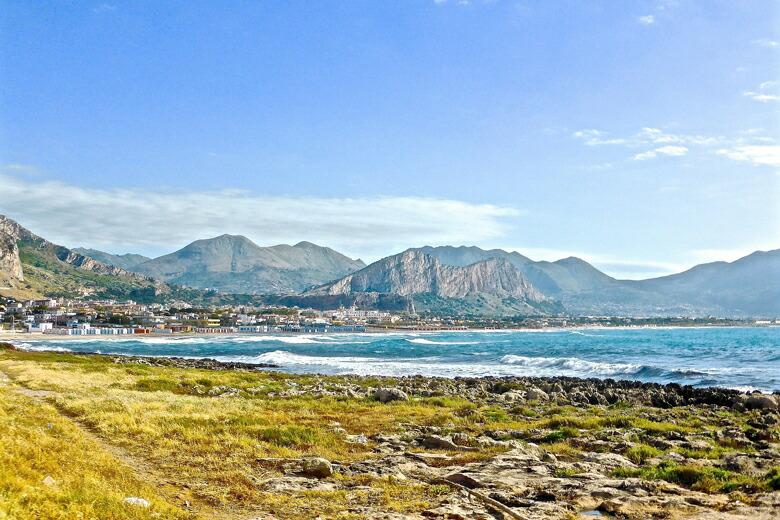 シチリア島-海岸