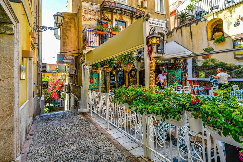 シチリア島-街道