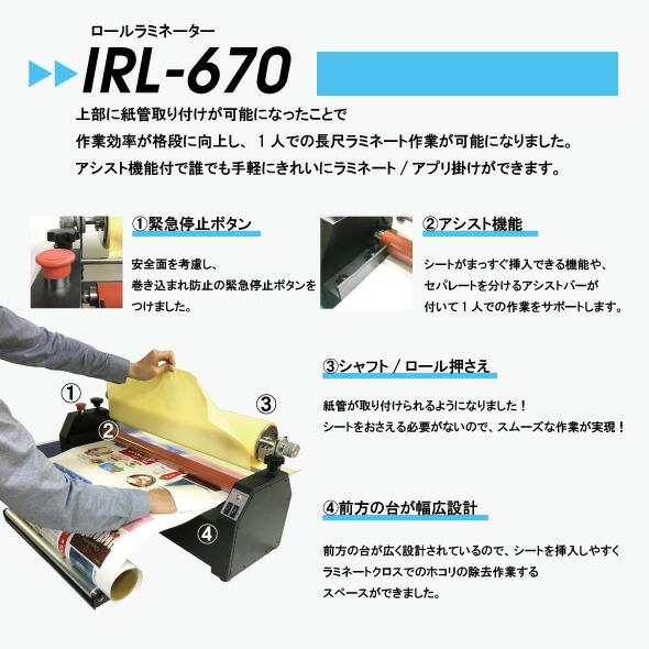 IRL-670説明