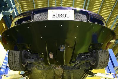 エアロパーツメーカー EUROU トレノ フロントディフューザー1