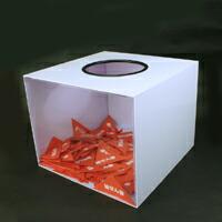 イベントグッズ/抽選用品/アクリル製抽選箱C